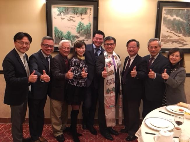 江俊輝得到各界華人支持。