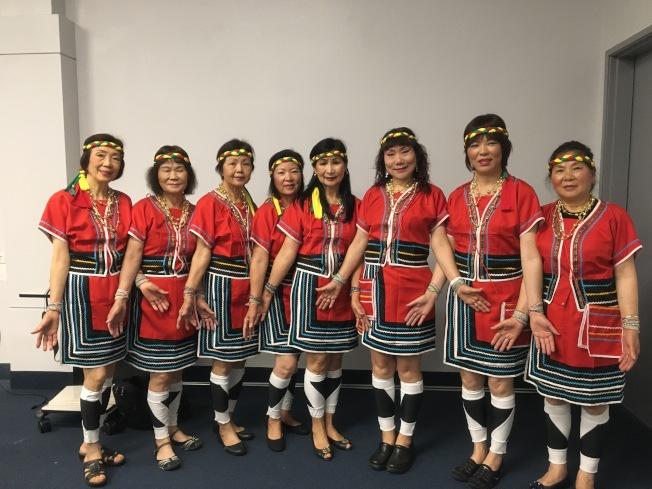 Live Oak Park土風舞社屆時將表演台灣原住民山地舞「阿里山的姑娘」。(記者謝雨珊/攝影)