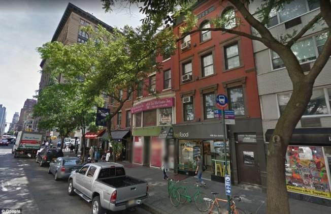 歐格雷蒂所住的公寓,位於紐約曼哈頓市中心。(取自英國每日郵報)