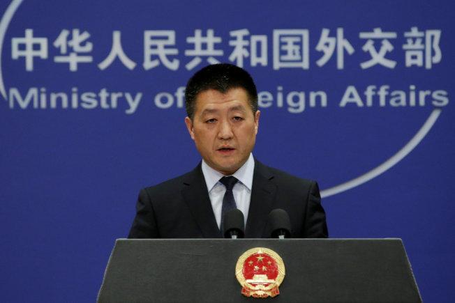 中國外交部發言人陸慷。路透