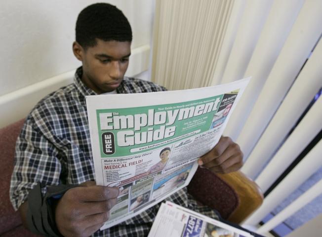 青少年夏季就業成長將持續停滯。(美聯社)