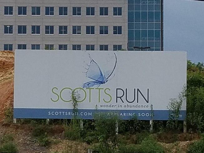 泰森角的Scott Runs據聞是蘋果將考慮的第二總部北維可能三址之一。(Wiki)