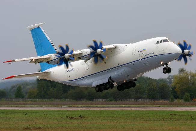 俄罗斯氧造的安东诺夫(Antonov)货机。(维基百科)