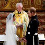 〈圖輯〉哈利王子感動落淚  梅根馬克爾甜蜜微笑