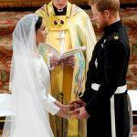 承諾珍愛彼此至死方休 哈利梅根大婚 英王室首見非裔王妃
