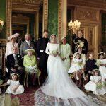 哈梅大婚家族合照  英國王室溫馨分享