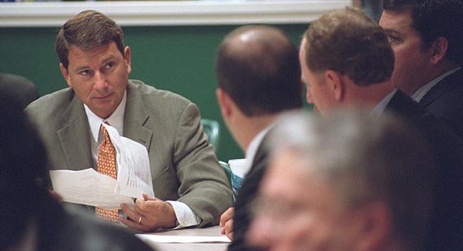 曾為川普總統效命的不少人如今在遊說業紛紛賺大錢,例如曾為川普募款的老牌佛州說客巴拉德。(美聯社)