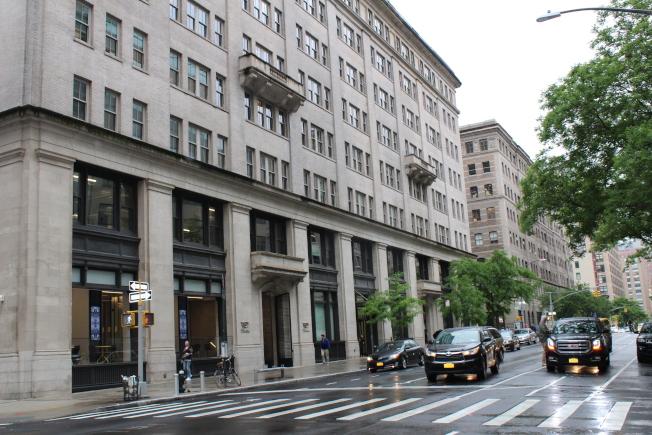 哈德遜廣場被當地居民視為曼哈頓的「遺珠」。(記者劉大琪/攝影)