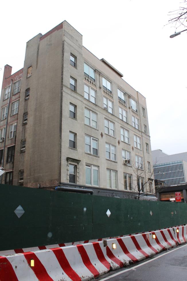 中建集團投資的哈德遜廣場Charlton街110號開發項目。(記者劉大琪/攝影)
