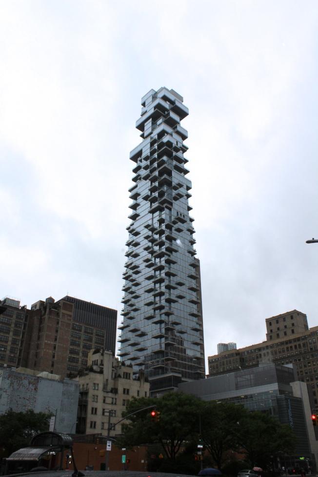 翠貝卡Leonard街56號的房價中位數有720萬元之多。(記者劉大琪/攝影)
