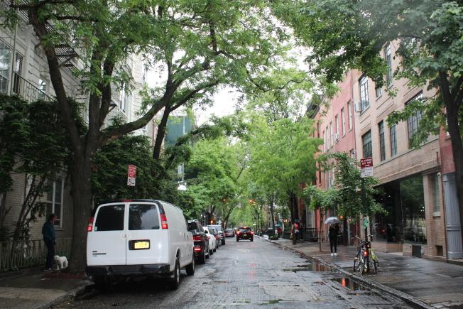 西村鬧中取靜,完全沒有曼哈頓的喧囂。(記者劉大琪/攝影)