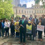 有犯罪紀錄移民難再享免費法援 移民團體抗議