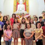 德州佛教會 頒發菩提獎學金