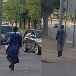 非裔少年 穿畢業袍獨搭公車  司機感動貼文  神祕客贈新車