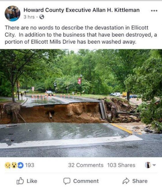 世紀洪災兩度肆虐 伊利卡老街再受重創