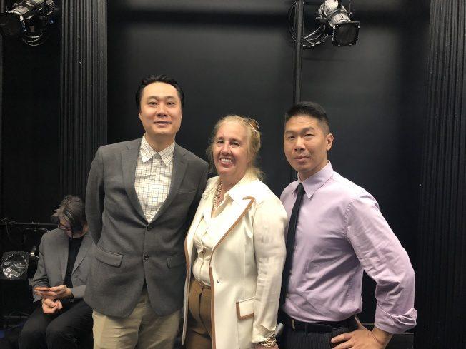 曼哈頓區長慶傳統月 表彰王志杰、俞思亮