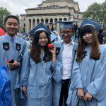 哥大華裔畢業生揚帆啟航 用知識改變世界