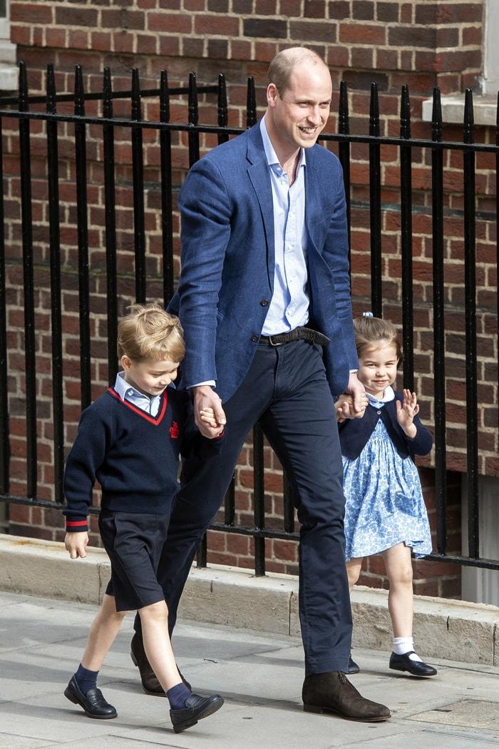 威廉王子的兒女喬治和夏綠蒂加入哈利王子和未婚妻梅根馬克爾的花童和小伴娘行列。歐新社