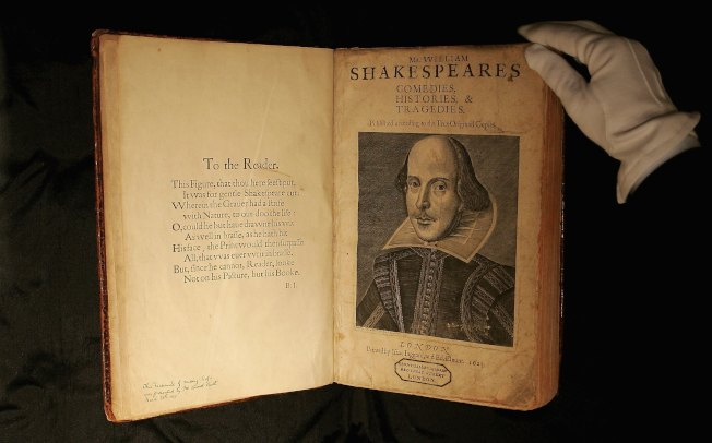 首部莎翁戲劇集的《哈姆雷特》。(Getty Images)