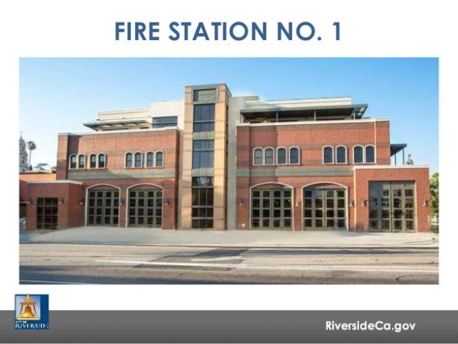 舊的河濱市一號消防站是河濱市歷史地標,準備改造為星級酒店,擬於2020年對公眾開放。(網路)