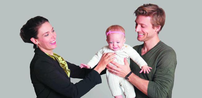 英國為了從根本改變父母親如何分配工作和照顧孩子的時間,實施「共享育嬰假」(shared parental leave)。(本報資料照片)