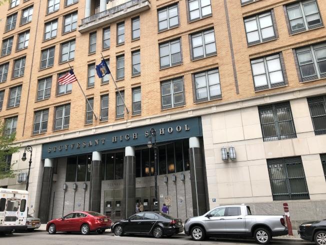 紐約市長白思豪計畫將改變特殊高中錄取,將從明年把20%的席位留給低收入家庭學生。(記者陳小寧/攝影)