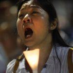香港11.5萬人悼六四 高喊結束一黨專政