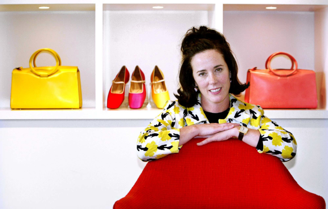 美國知名設計師Kate Spade創辦了引領時尚的同名品牌。(美聯社)