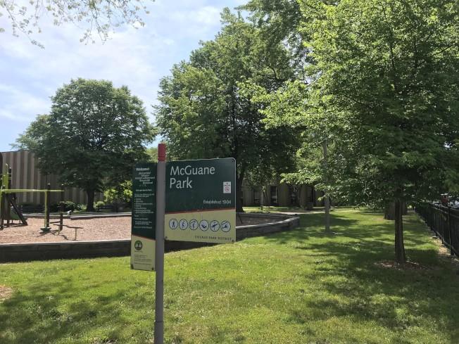 時常在麥克關恩公園打太極的方佩香,在5月16日出門到公園打太極後失去音訊。(特派員黃惠玲╱攝影)