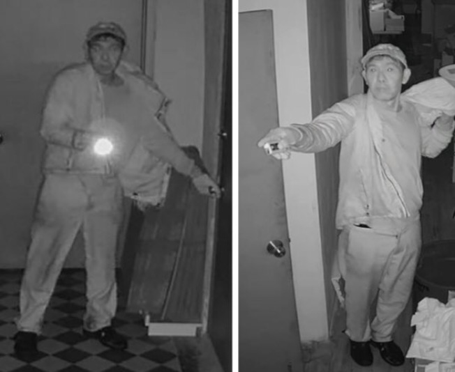 警方通緝入室盜竊華男嫌犯。(五分局提供)