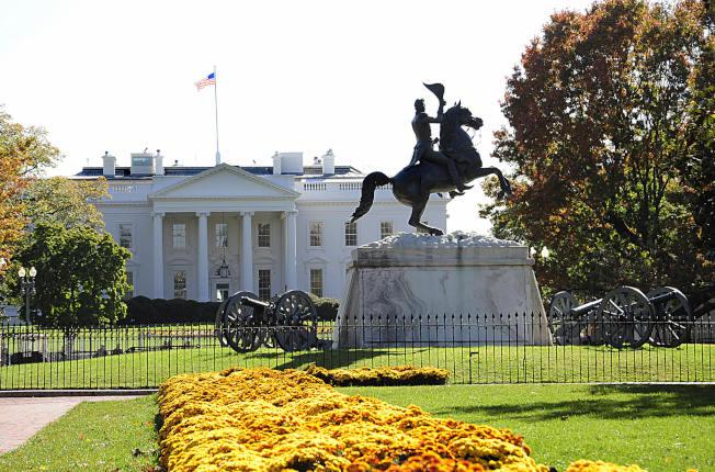 白宮重建之後,才有今日的模樣。(Getty Images)