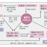 1張圖看中國逃稅風暴關係圖