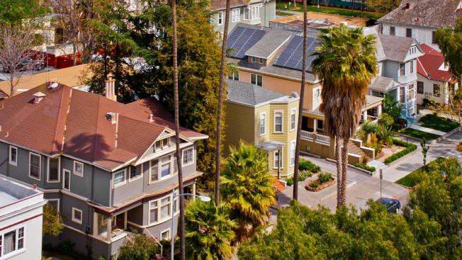 加州聖荷西房屋升值全美稱冠,比一年前暴漲26%,中位房價衝上126萬元。(Getty Images)