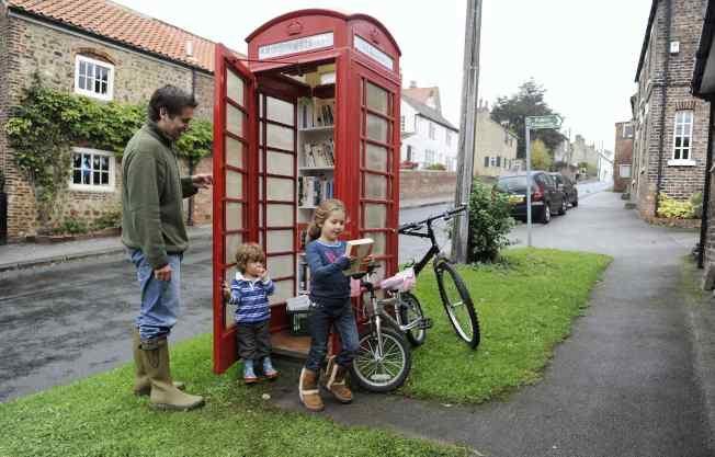 城市傳真/英倫電話亭 強勢回歸現代社會
