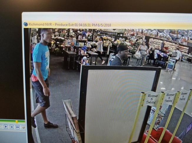 福遍縣警長辦公室11日發布三名涉及在超市停車場以暴力方式搶劫民眾的嫌犯照片,希望民眾協助指認,盡快將這幫團夥繩之以法。(福遍縣警長辦公室提供)