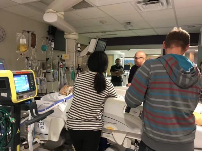 阿妮雅在第二次病發入院後,醫生曾發出三次病危通知。(張美琪提供)