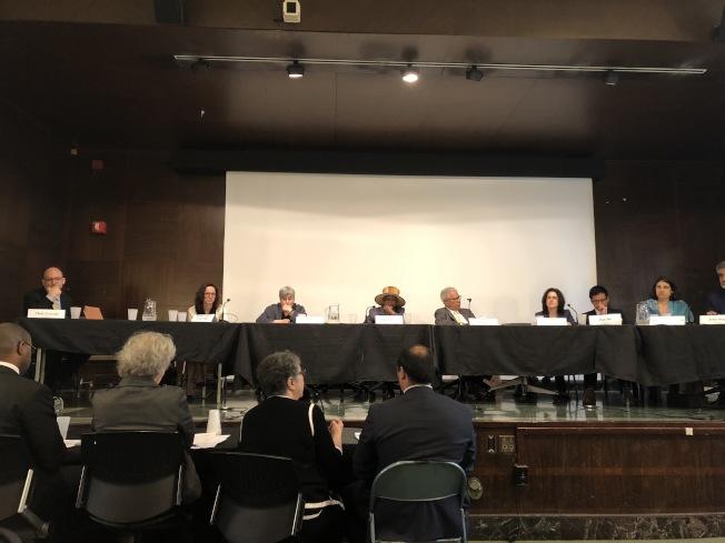 市憲章修訂委員會就市級選舉複選制度舉行公聽。(記者洪群超/攝影)