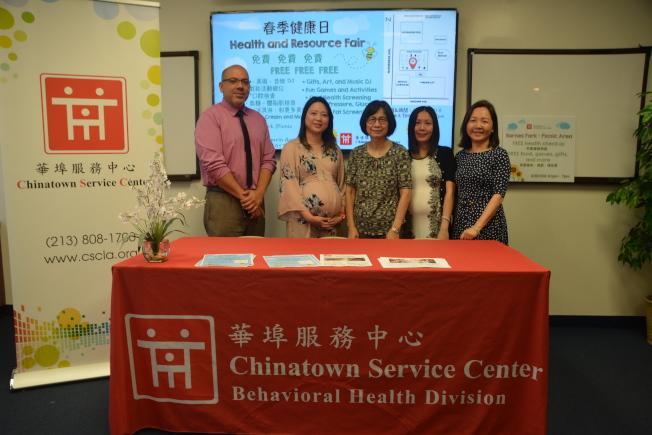 華埠服務中心將於15日在蒙市舉辦「春季健康日」免費健康檢查與講座,歡迎民眾踴躍參加。(記者高梓原/攝影)