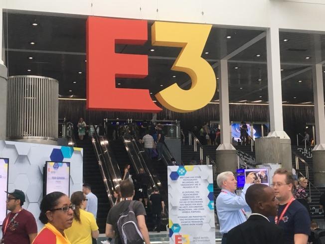 遊戲界年度盛會E3 Expo電玩展,繼去年第二次開放一般民眾進場試玩。(記者謝雨珊/攝影)