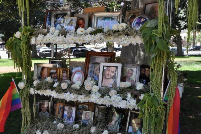 Pulse夜店遇難者相片。(記者王若然 / 攝影)