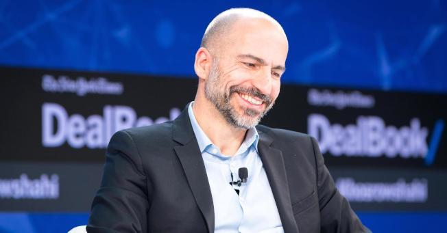 優步執行長庫斯洛沙希表示,紐約市應向程式召車和計程車徵收附加費,以協助被債務所困的計程車執照持有人。(Getty Images)