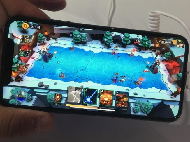 心願互動遊戲廠商的《WizardLord》渴望打進歐美市場。(記者謝雨珊/攝影)