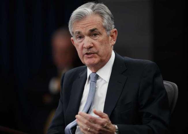 Fed主席鮑威爾。美聯社