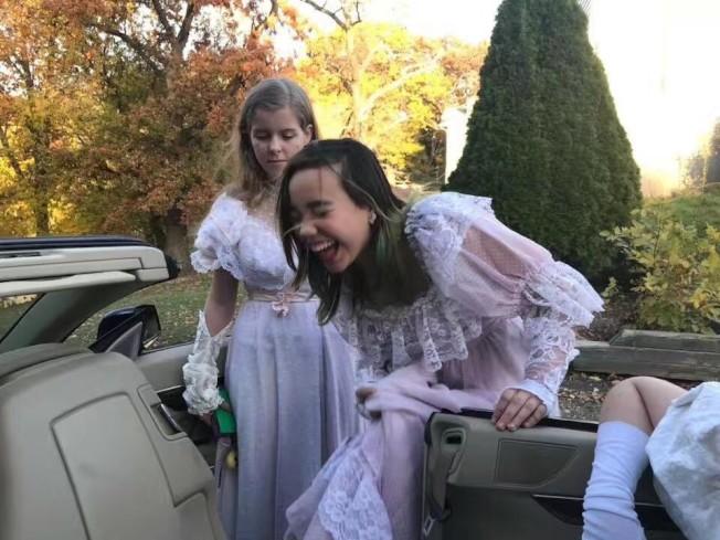 生病前的阿妮雅,與其他同齡小女孩一樣,愛漂亮、愛笑。(張美琪提供)