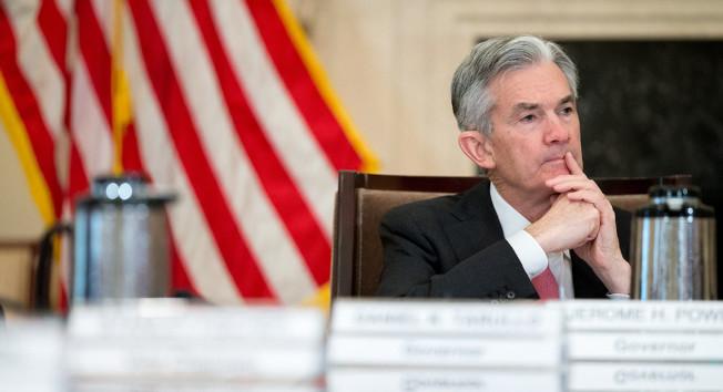 Fed今年可能升息四次,股市反轉收跌。(美聯社)