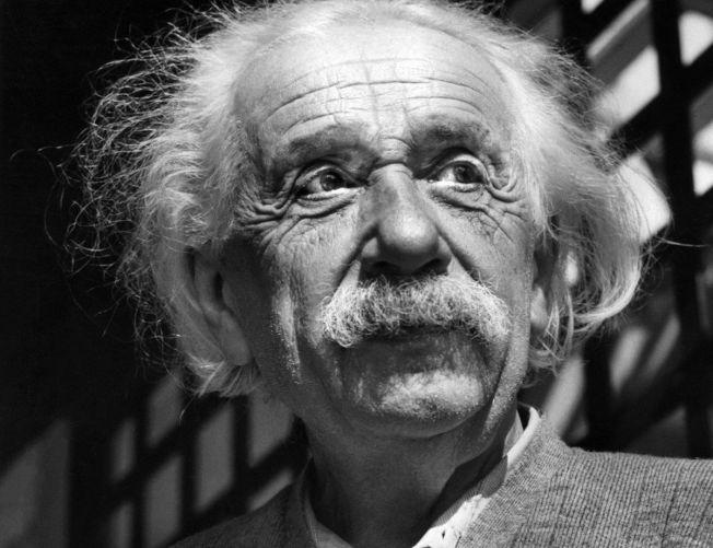 著名物理學家愛因斯坦。(美聯社)