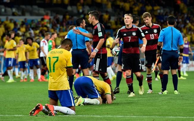 足球強國巴西在上屆世足賽慘遭德國隊屠戮,本屆力圖雪恥。(美聯社)