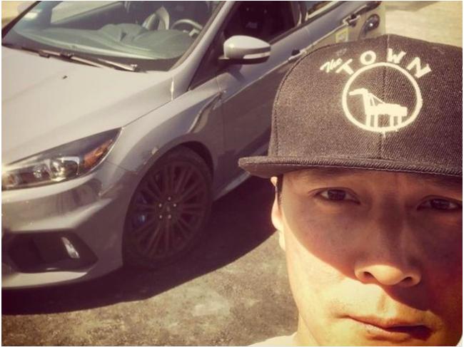 吳彥祖在社交媒體上公布他的車在舊金山被砸。(圖:取自吳彥祖社交媒體)