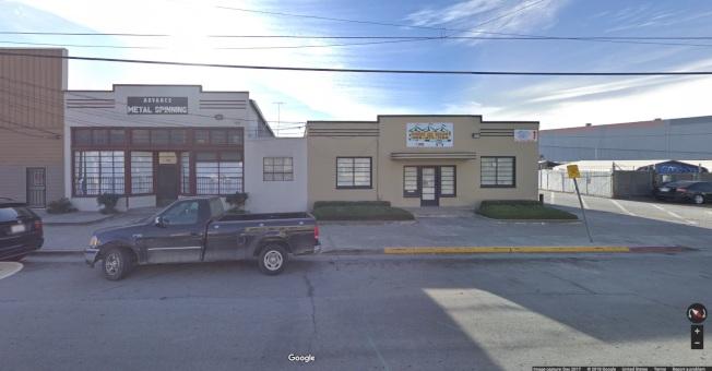 Google近日在聖荷西市中心North Montgomery Street附近收購多筆土地。(取自Google地圖)