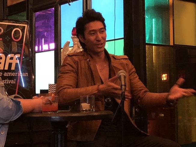 電影演員吳育剛(Chris Pang)。(記者王若然 / 攝影)